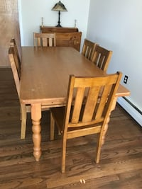 Dining room kitchen table chairs WILL SEPARATE