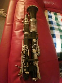 Steampunk Clarinet, lights,sound was fun to make but I dont need it,.