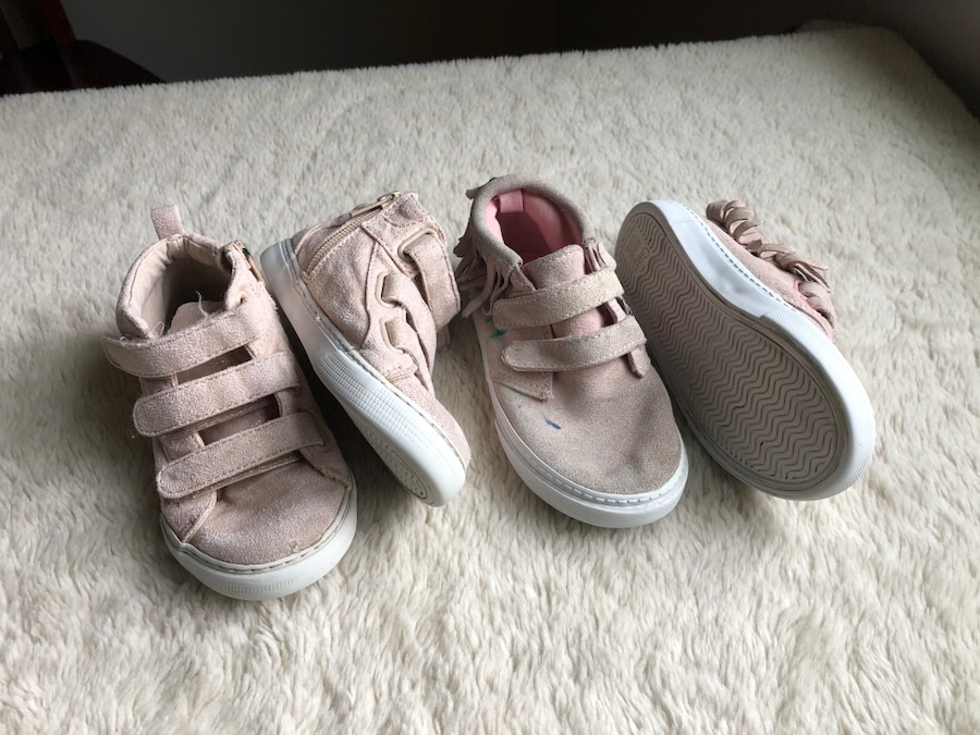 Photo Baby Gap Little Girls Size 10 Shoes Boots Sneakers LOT Cute
