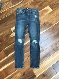 Seven For Mankind distressed girls jeans size 7 Clark, 07066