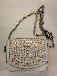 Rhinestoned white Juicy Couture bag Port Coquitlam, V3C 6B2