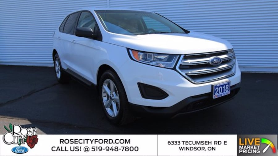 2018 Ford Edge SE / ACCIDENT FREE / BACK UP CAM / ONE OWNER / CLO 0