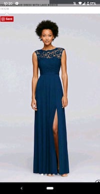 Size 8 evening gown (price negotiable) Etobicoke, M9P 2K4