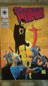 1993- ISSUE #1 VOL.1- SECRET WEAPONS COMIC BOOK