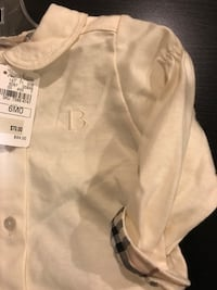 Brand new Burberry button down shirt size 6 months Gaithersburg, 20879