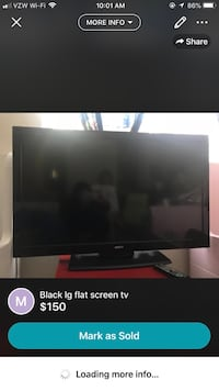 black flat screen TV screenshot Fairfax, 22033