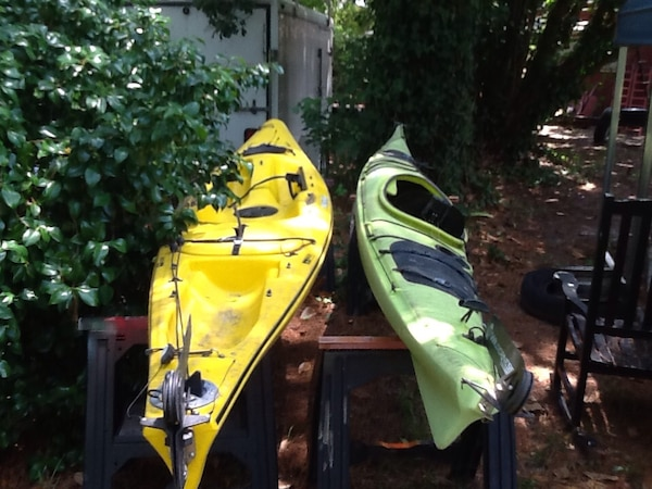 2 Kayaks Necky Dolphin & Wilderness Systems Cape Horn w/ Rudders You get  Both