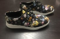 Dr. Martens Darcy Floral Black Womens Oxford Shoes 37 km