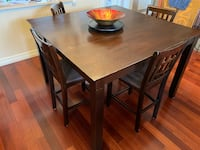 Bistro table 8 chairs dining set 8 chaises Boisbriand, J7H 1K3