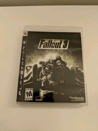 Sony PS3 Fallout 3 case Tysons, 22102