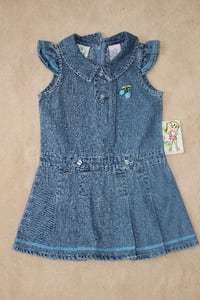 Girls denim dress 3T Lorton