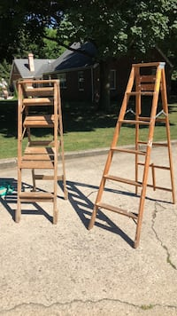 wooden ladders, price for each your choice Luckey, 43443