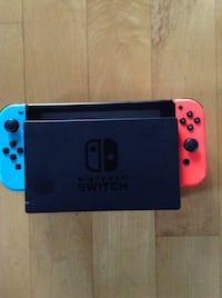 blue and red Nintendo Switch Laval, H7X 3N3