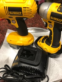 Two yellow-and-black dewalt cordless impact wrenchs Springfield, 22150