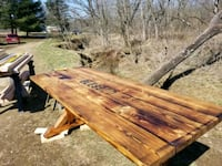 Custom farmhouse table benches are addition cost 7 Mount Perry, 43760