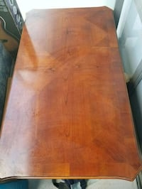 rectangular brown wooden coffee table Toronto, M2K 3C8