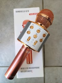 Brand new Karaoke Mic with Built-in wireless Speaker $40 firm Mississauga, L5W