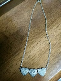 silver chain necklace with pendant Stratford, 74872