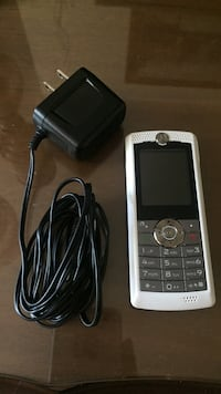 Motorola  phone with charger (white and gray) Winnipeg, R3B 2X2