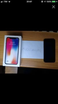 iPhone X con scatola e accessori  6808 km