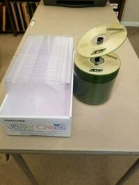 Blank CD and jewel cases Augusta, 30909