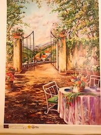 brown and green house painting Arcadia, 91006