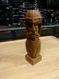 Hand Carved Viking by my dad Livingston, 95334
