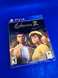 Shenmue 3 • PS4 • Sealed Guelph, N1H 7V2