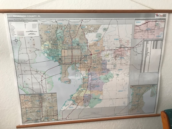 Used and new map in Tampa letgo