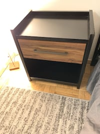 Solid Wood Nightstand/Side Table