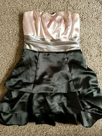 Blush/Grey/Black Dress 1357 mi