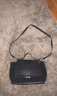 Zara Black Bag with strap