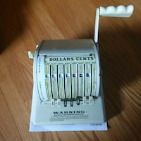 Vintage Check writer Kitchener, N2M 1S6