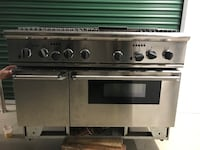 Gas stove Thermador oven range Miller Place