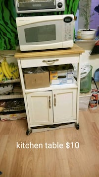 Kitchen table /microwave stand  Queens, 11363