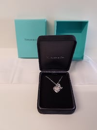 Return to Tiffany Love Heart Tag Key Pendant El Dorado Hills