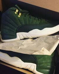unpaired white and black Air Jordan 11 shoe with box York Haven, 17370