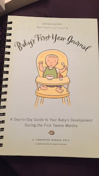 Baby's first year journal book- unused. Fairfax, 22032