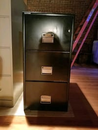 Fire proof file cabinet