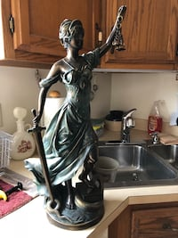 "Lady of liberty law statue 12"" high a beautiful piece for a law office  Providence, 02906"