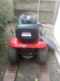 red and black Craftsman ride on lawn mower Norfolk, 23505