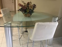 Dining Table & 2 Chair Set Doral