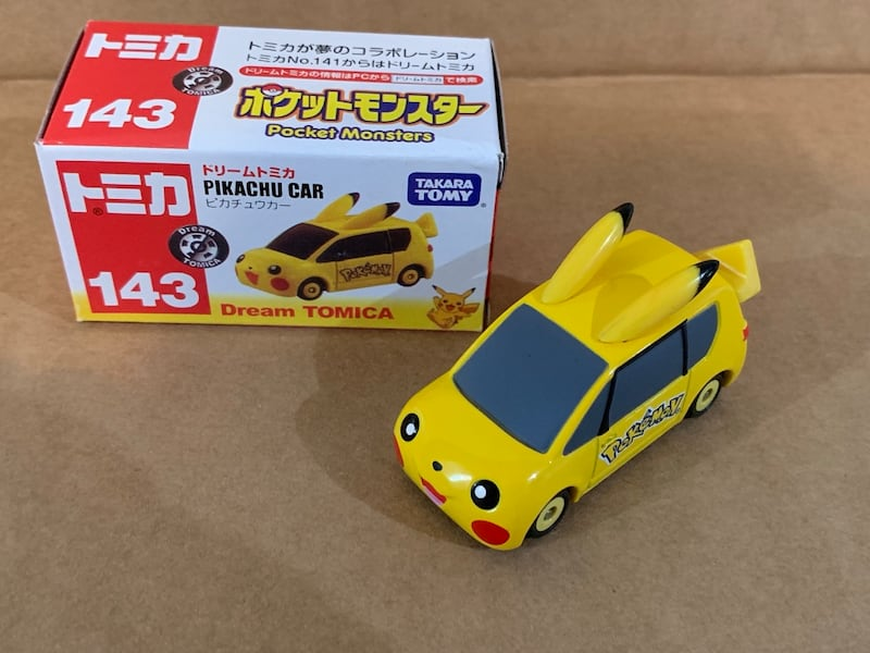 Tomica pokemon Pikachu Car 1