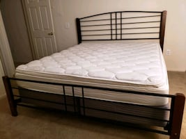 California King Size Bed and Frame