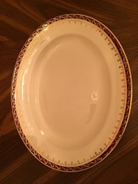 $5! 2 serving platters, 3 china plates