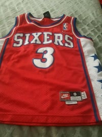Vintage Sixers Iverson size Small Los Angeles, 91342