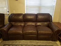 3 seat leather recliner San Bernardino
