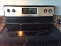 black and gray induction range oven Clinton, 20735