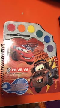 Lightening McQueen Paint Set