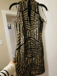 Beautiful black and gold dress Edmonton, T5M 1S3